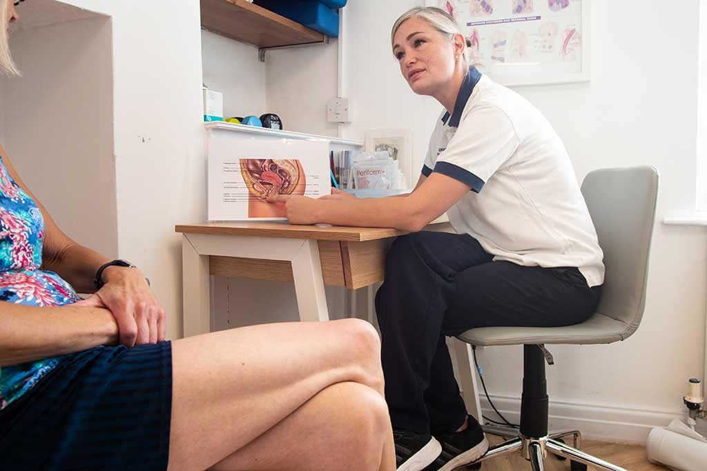 Post-natal and continence physiotherapy