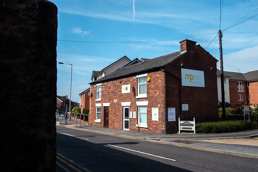 Marple Physio's exterior Stockport